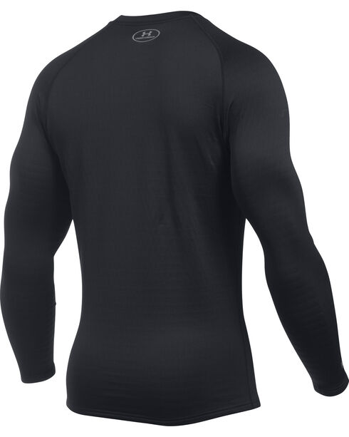 Under Armour Men's Base 4.0 Crew Shirt , Black, hi-res