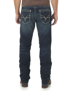 Rock 47 by Wrangler Men's Microphone Straight Leg Jeans, Indigo, hi-res