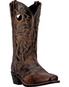 Laredo Men's Pequin Western Boots, Taupe, hi-res