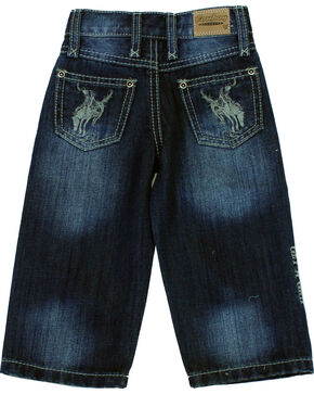 Cowboy Hardware Toddler Boys' Buckaroo Dark Wash Jeans (5, 6), Indigo, hi-res