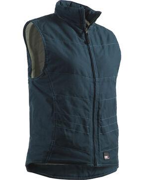 Berne Women's Bellavista Vest, Blue, hi-res