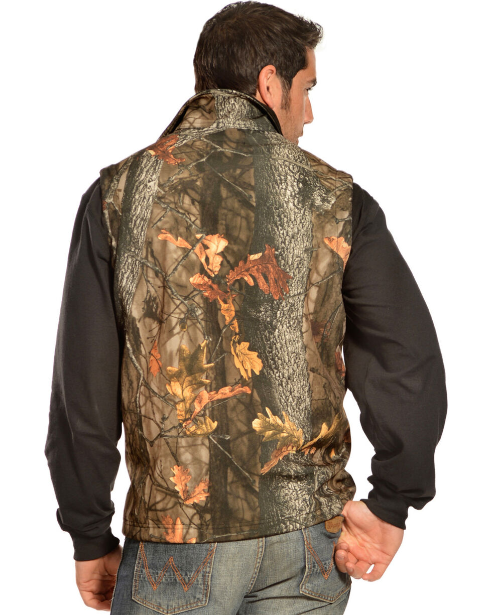 Gibson Trading Co. Men's Camo Vest, Camouflage, hi-res