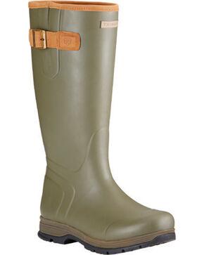 Ariat Men's Burford Waterproof Boots, Olive, hi-res