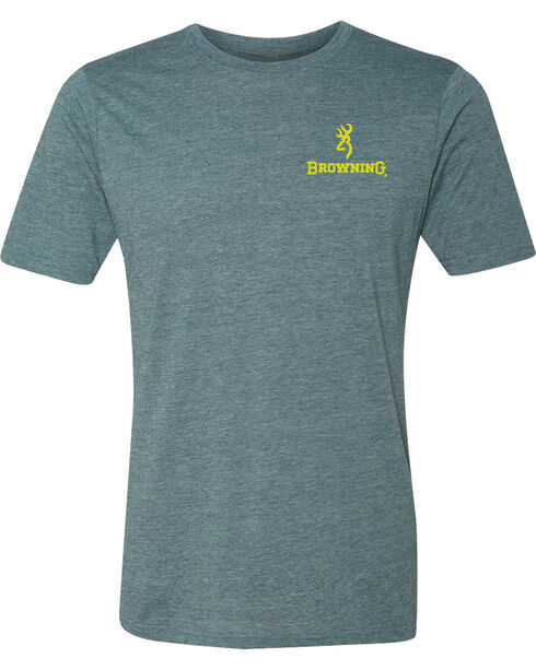 Browning Men's Bolt X Short Sleeve Tee, Indigo, hi-res