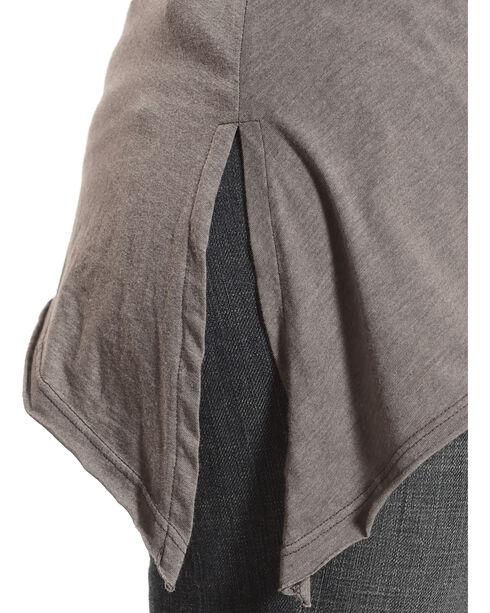 Johnny Was Women's Voltage Anaya Short Sleeve Trapeze Shirt , Grey, hi-res