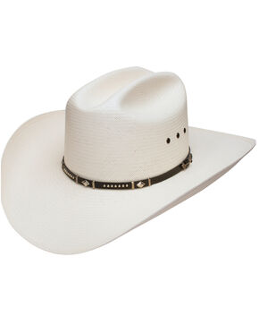 Stetson Men's Natural Lucky 7 10X Straw Hat , Natural, hi-res