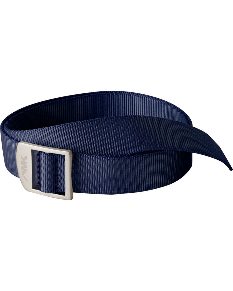 Mountain Khakis Navy Webbing Belt , Navy, hi-res