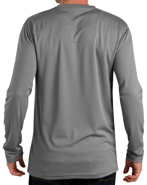 Dickies Men's Pro Long Sleeve Coolcore Tee, Grey, hi-res