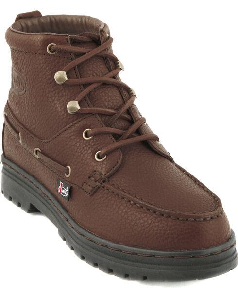Justin Women's Chukka Boots, Rust, hi-res