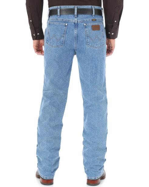 Wrangler Men's Cool Vantage Cowboy Cut 36 Slim Fit Jeans, Light Stone, hi-res