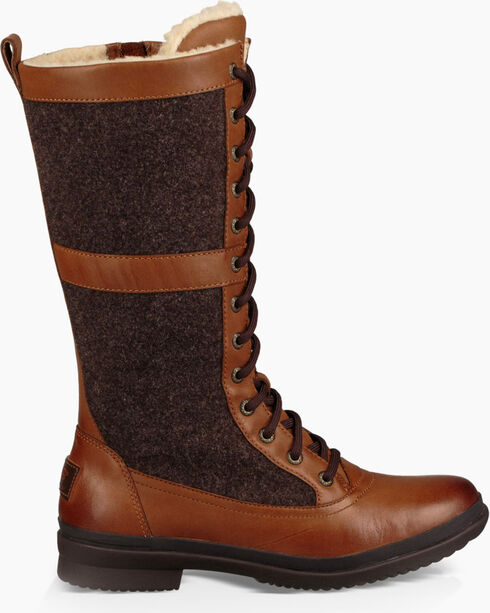 UGG Women's Lace-Up Outdoor Boots, Chestnut, hi-res