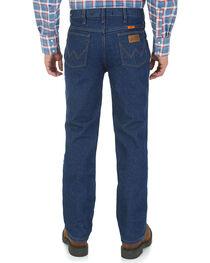 Wrangler Men's Blue FR Lightweight Regular Fit Jeans - Big, , hi-res