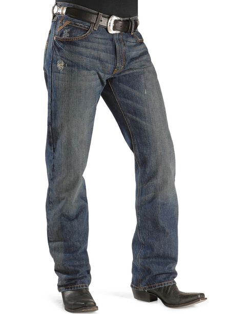 Ariat Men's M4 Tabac Relaxed Fit Jeans, Dark Stone, hi-res