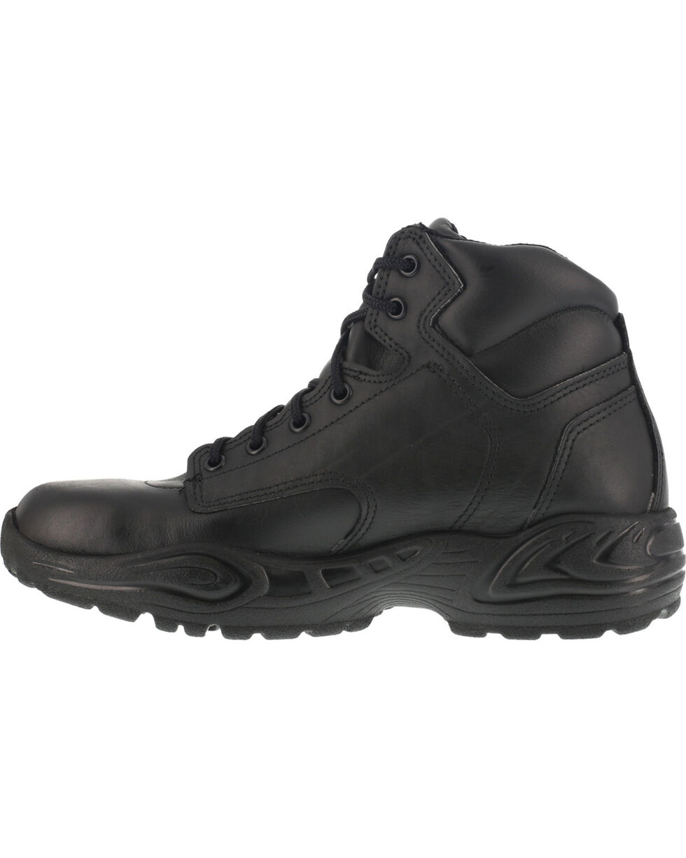 "Reebok Men's 6"" Postal Express Work Boots - USPS Approved, Black, hi-res"
