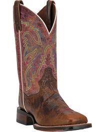 Dan Post Women's Teton Square Toe Western Boots, , hi-res