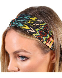 Shyanne® Women's Geo Printed Headband, , hi-res