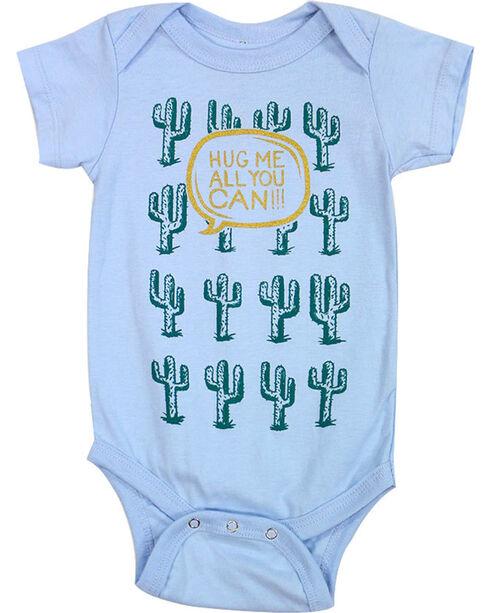 Cody James Infant Boys' Hug Me Cactus Onesie, Blue, hi-res