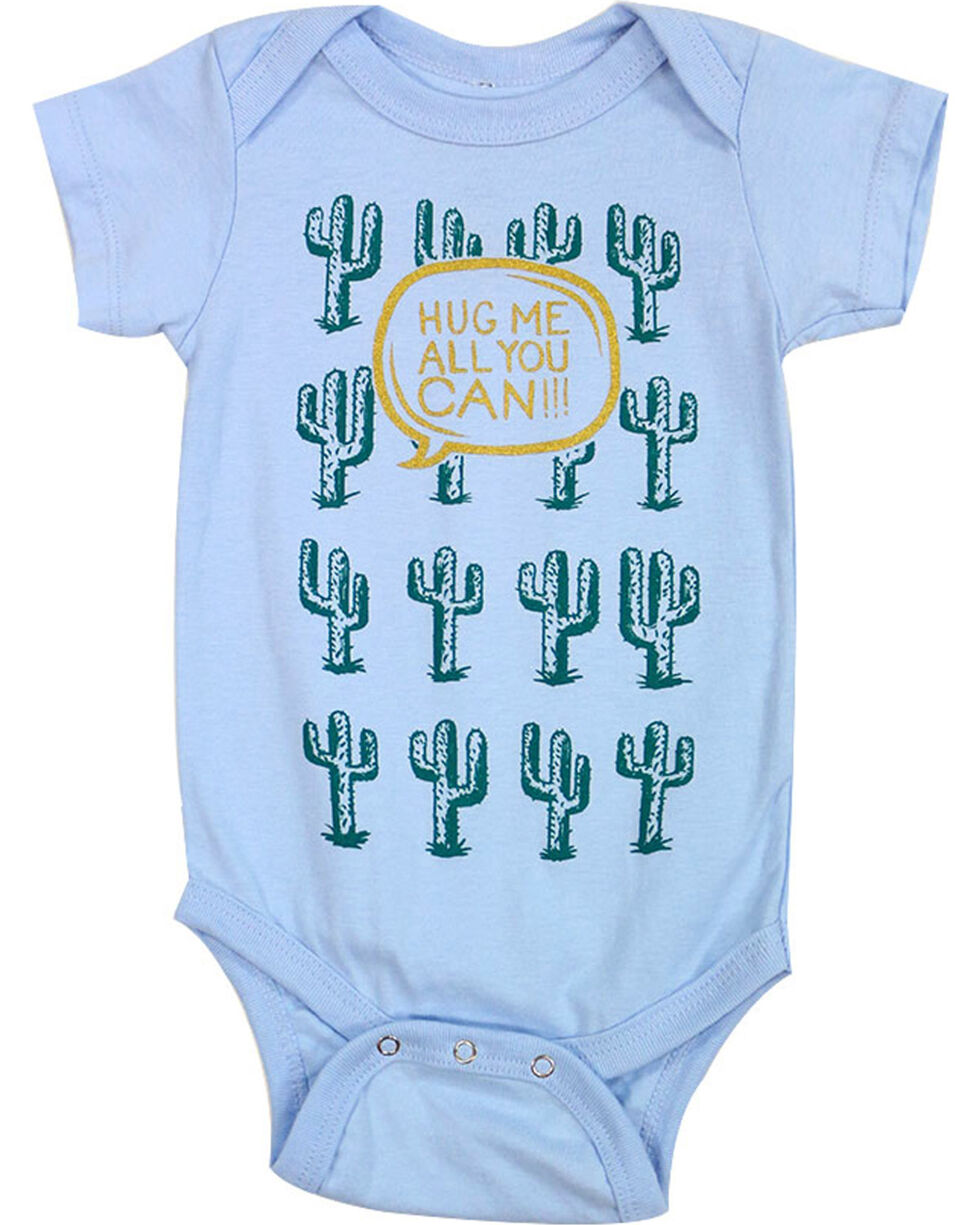 Cody James Infant Boys' Hug Me Cactus Onesie, , hi-res