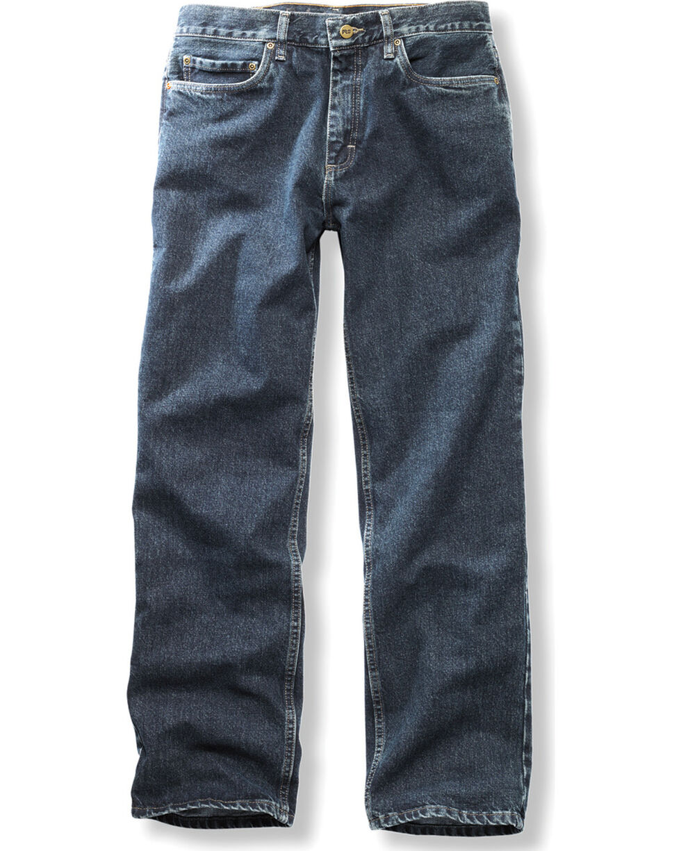 Timberland PRO Men's Stonewash Grit-N-Grind Denim Work Pants , Blue, hi-res