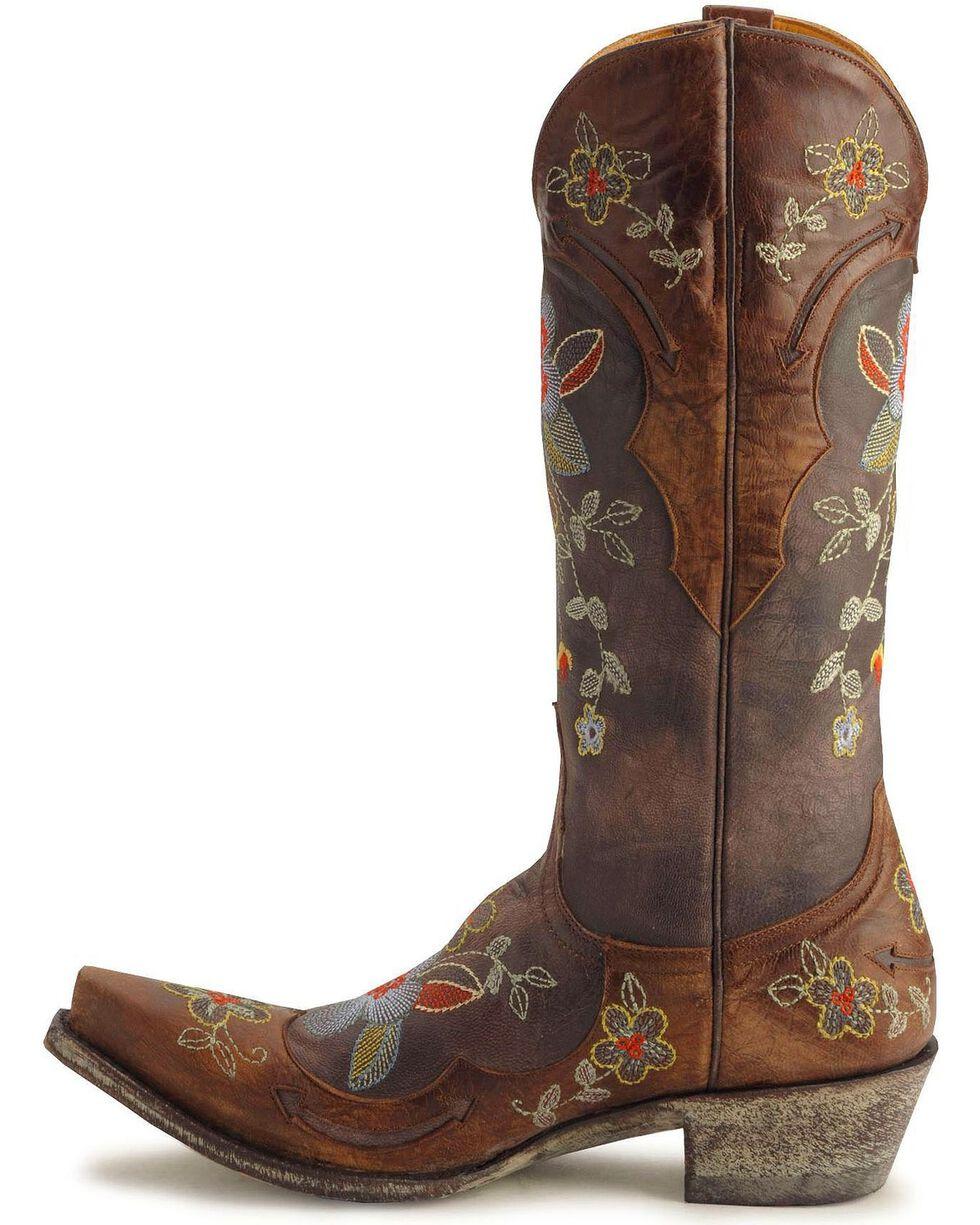 "Old Gringo Women's Bonnie 13"" Western Boots, Chocolate, hi-res"