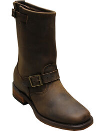 "Sage by Abilene Men's 11"" Engineer Boots - Square Toe, , hi-res"
