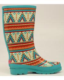 Blazin Roxx Dakota Southwestern Rain Boots - Round Toe, , hi-res