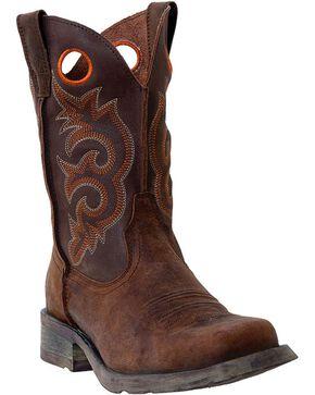Laredo Men's Gaucho Prowler Western Boots, Tan, hi-res