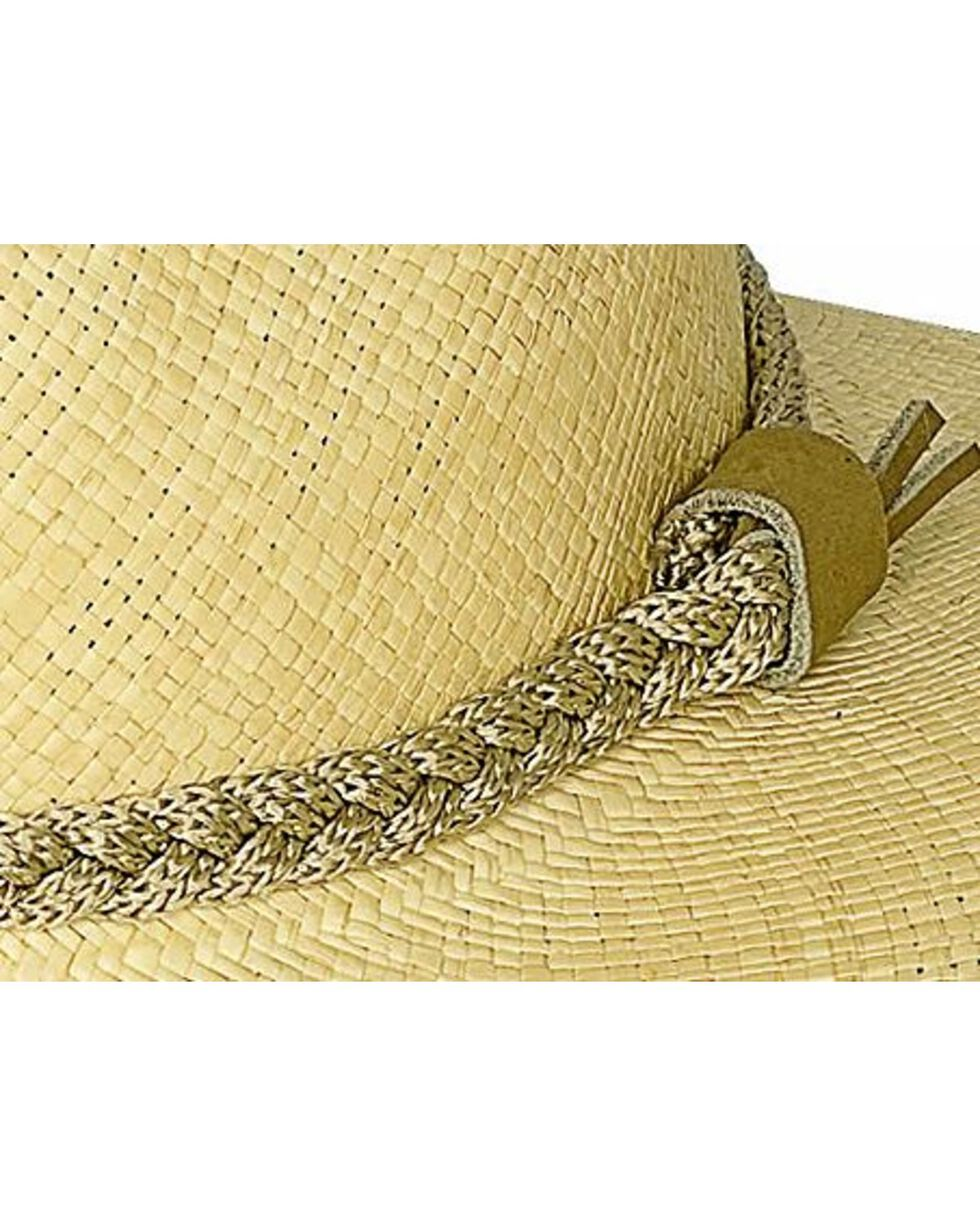 Bullhide Women's Cape Coral Straw Hat, Natural, hi-res