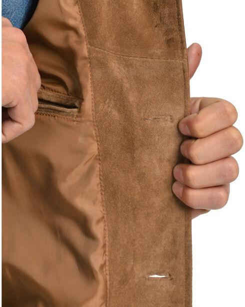 Scully Suede Fringe Jacket, Brown, hi-res