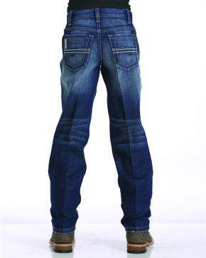 Cinch Boys' Indigo (4-7) Sawyer Slim Fit Jeans - Straight Leg  , Indigo, hi-res