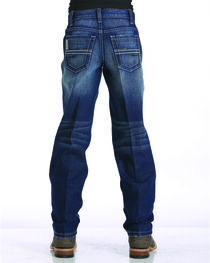 Cinch Boys' Indigo Sawyer Loose Fit Jeans - Straight Leg , , hi-res