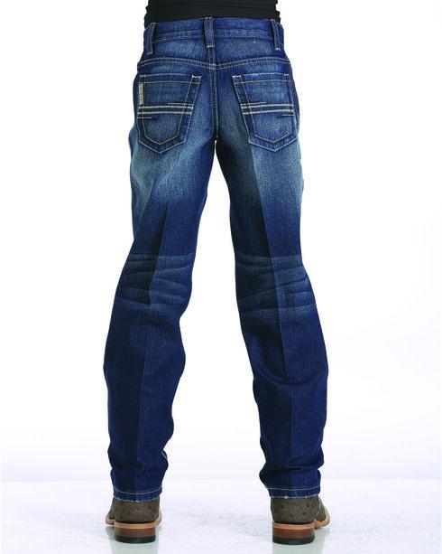 Cinch Boys' Indigo Sawyer Loose Fit Jeans - Straight Leg , Indigo, hi-res