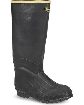 LaCrosse Men's ZXT Knee Work Boots, Black, hi-res