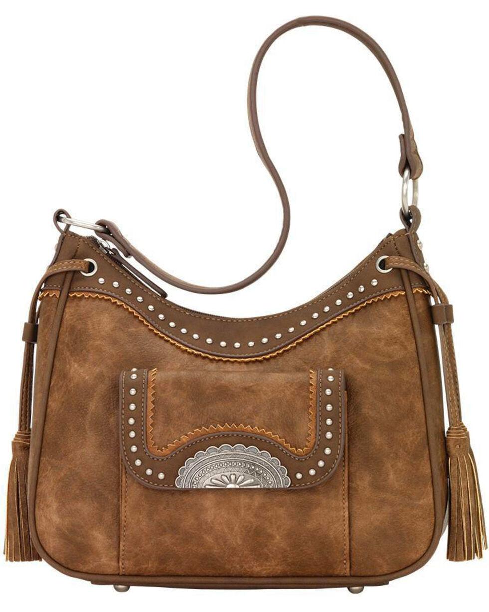 Bandana Women's Guns & Roses Conceal Carry Shoulder Bag , , hi-res