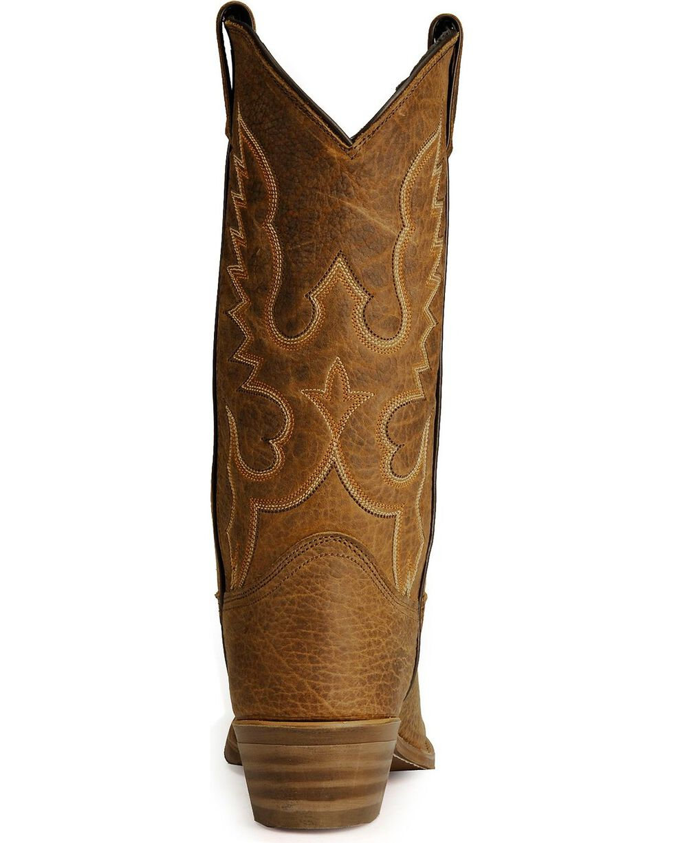 "Abilene Men's 12"" Bison Western Boots, Tan, hi-res"