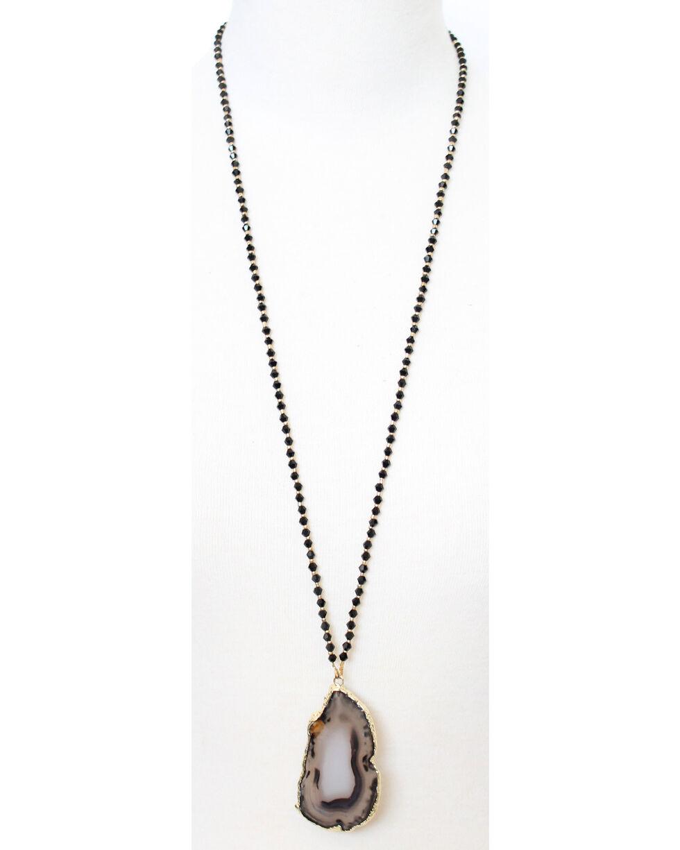 Everlasting Joy Women's Ravine Sparkle Necklace, Black, hi-res