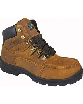 Smoky Mountain Men's Dixon Work Boots - Steel Toe, Crazyhorse, hi-res