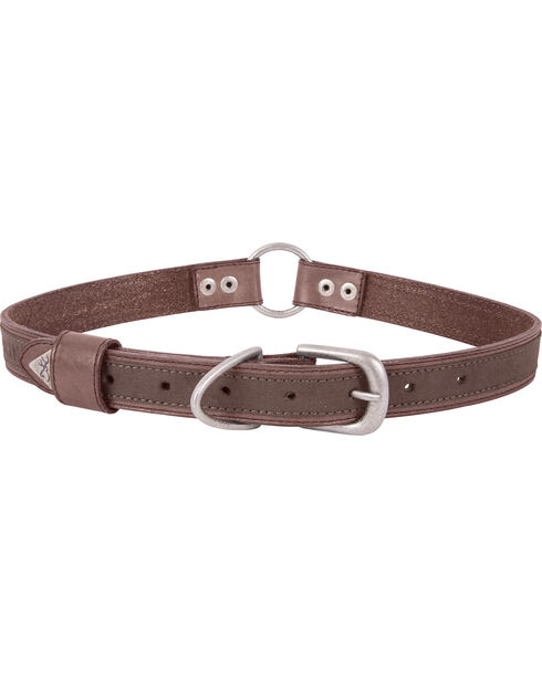 "Browning Brown Large Leather Dog Collar - Large 18 - 28"", Brown, hi-res"