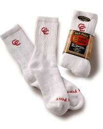 Dan Post Women's Cowboy Certified Crew Socks, , hi-res