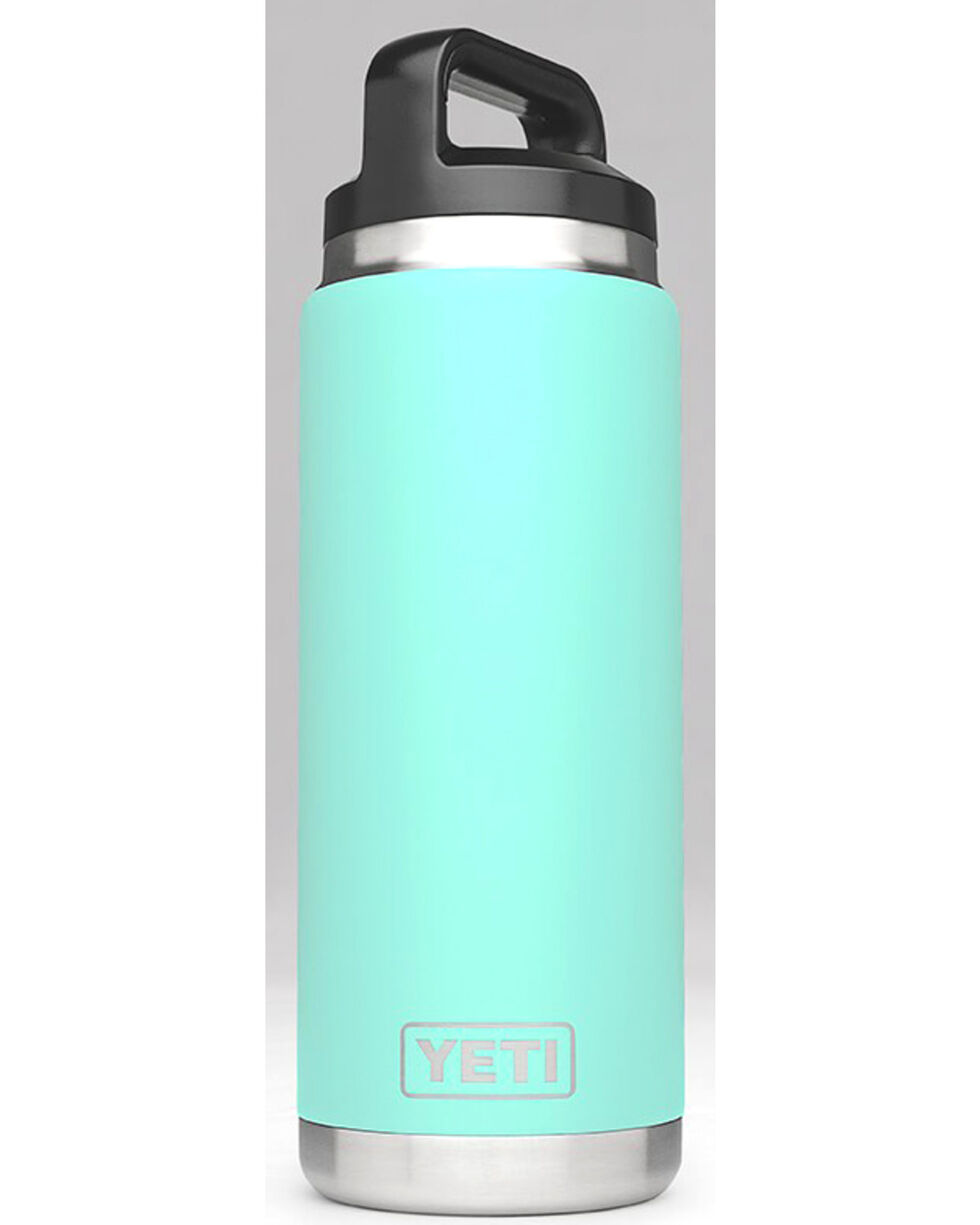 Yeti Seafoam 26 oz. Bottle Rambler , Aqua, hi-res