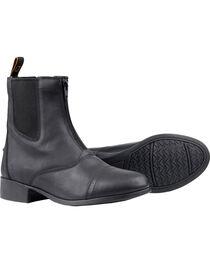 Dublin Kids' Elevation Zip Paddock Boots, , hi-res