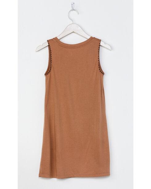 Miss Me Girls' Orange Native Trails Tank Dress , Orange, hi-res