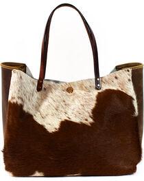 SouthLife Supply Women's Shiloh Cowhide Medium Bucket Bag, , hi-res