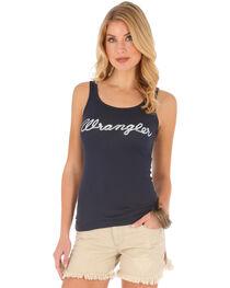 Wrangler Women's Logo Rib Tank Top , , hi-res