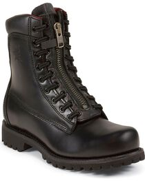 Chippewa Men's Steel Toe Patent Work Boots, , hi-res