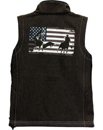 Cowboy Hardware Boys' Team Roper Vest, , hi-res