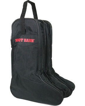 Boot Barn® Nylon Logo Boot Bag, Black, hi-res