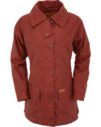 Outback Trading Co Women's Rust Copper Belfast Jacket , , hi-res