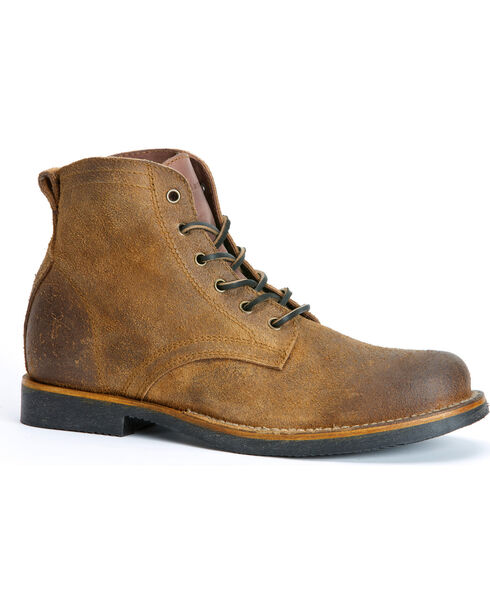 Frye Roland Lace-Up Suede Boots, Tan, hi-res