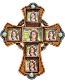 M&F Multi Picture Frame Wall Cross, , hi-res